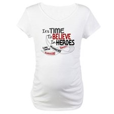 Time To Believe LUNG CANCER Shirt