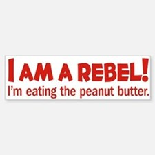 Food Rebel Bumper Bumper Bumper Sticker