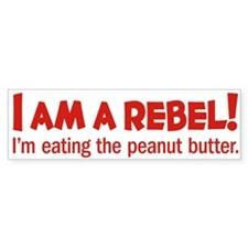 Food Rebel Bumper Bumper Sticker