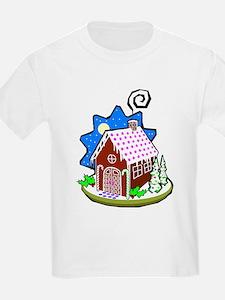 Gingerbread House Kids T-Shirt