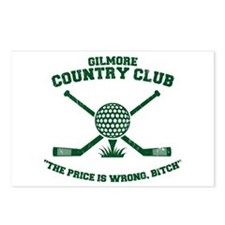 happy gilmore golf club funny Postcards (Package o