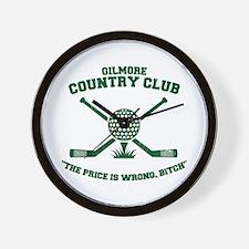 happy gilmore golf club funny Wall Clock