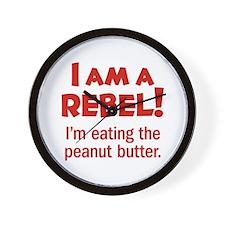 Food Rebel Wall Clock