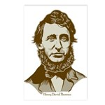 Henry David Thoreau Postcards (Package of 8)