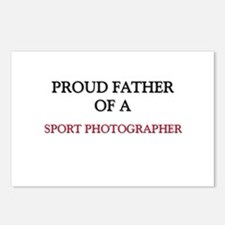 Proud Father Of A SPORT PHOTOGRAPHER Postcards (Pa