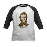 Henry David Thoreau Kids Baseball Jersey