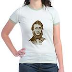 Henry David Thoreau Jr. Ringer T-Shirt