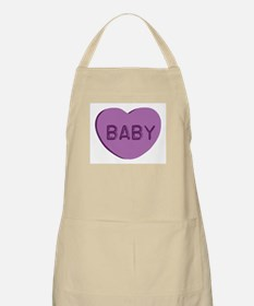 Baby Candy Heart BBQ Apron