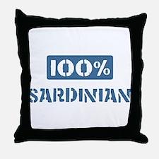 100 Percent Sardinian Throw Pillow