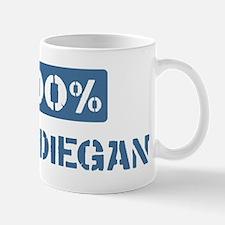 100 Percent San Diegan Mug