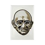 Mahatma Gandhi Rectangle Magnet (100 pack)