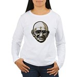 Mahatma Gandhi Women's Long Sleeve T-Shirt