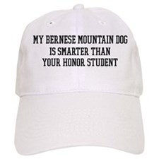 Smart My Bernese Mountain Dog Baseball Cap