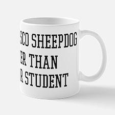 Smart My Bergamasco Sheepdog Mug