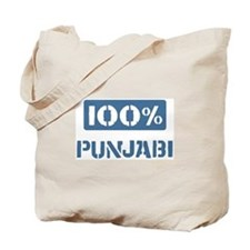 100 Percent Punjabi Tote Bag