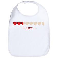 zelda hyrule life hearts Bib