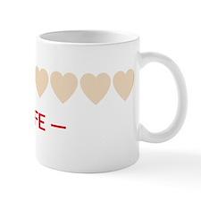 zelda hyrule life hearts Mug