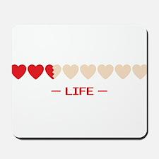 zelda hyrule life hearts Mousepad