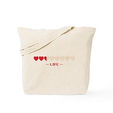 zelda hyrule life hearts Tote Bag