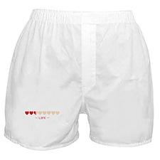 zelda hyrule life hearts Boxer Shorts