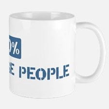 100 Percent Portuguese people Mug