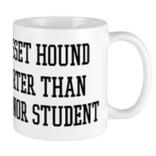 Smart My Basset Hound Mug
