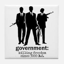Government: Killing Freedom Tile Coaster