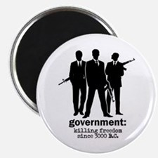 """Government: Killing Freedom 2.25"""" Magnet (10 pack)"""