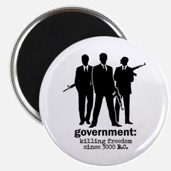 Government: Killing Freedom Magnet