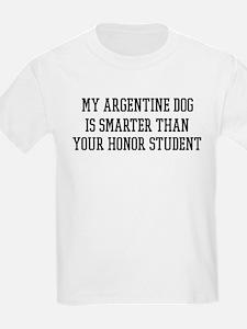 Smart My Argentine Dog T-Shirt