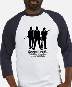 Government: Killing Freedom Baseball Jersey