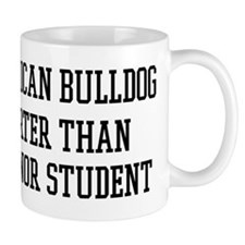 Smart My American Bulldog Mug