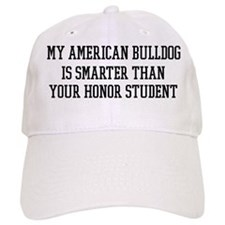 Smart My American Bulldog Baseball Cap