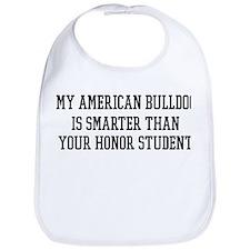 Smart My American Bulldog Bib