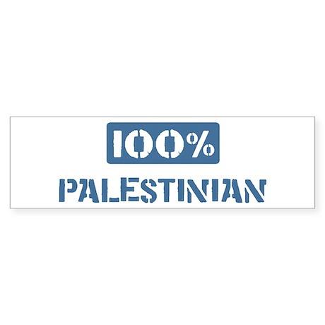100 Percent Palestinian Bumper Sticker (50 pk)