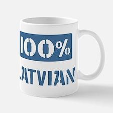100 Percent Latvian Mug