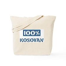 100 Percent Kosovan Tote Bag