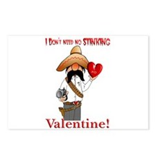 no valentine Postcards (Package of 8)