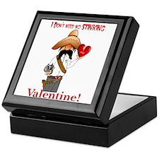 no valentine Keepsake Box