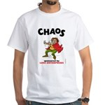 Loki's Chaotic Trickster White T-Shirt