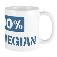 100 Percent Norwegian Small Mug