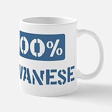 100 Percent Javanese Mug