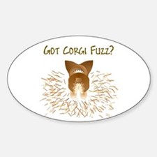 Sable Pem Got Fuzz? Oval Decal