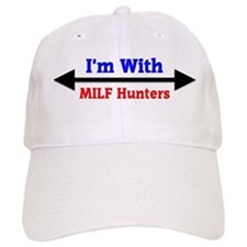 I'm With MILF Hunters Baseball Baseball Cap