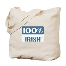 100 Percent Irish Tote Bag