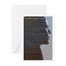 Text Of Obama's Inaugural Speech Greeting Card