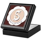 Sister of the groom Square Keepsake Boxes