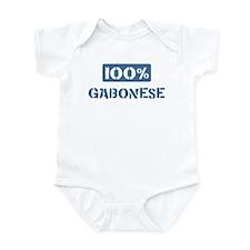100 Percent Gabonese Infant Bodysuit