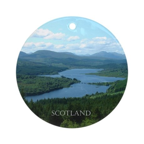Scotland Ornament (Round)