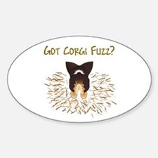 BHT Pem Got Fuzz? Oval Decal